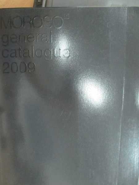 【書寶二手書T9/原文書_ZJJ】Moroso goneral catalogue 2009