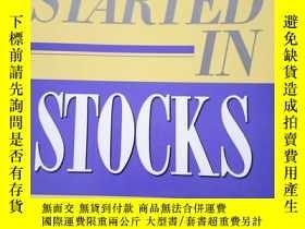 二手書博民逛書店Getting罕見Started in StocksY18821