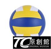 硬排軟式充氣排球學生訓練初學者排球中考學生專用球小學訓練
