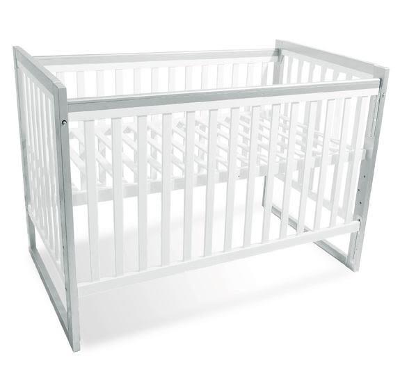 曼菲斯三合一嬰兒床-白灰(美式大床)BCTX2713