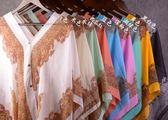 復古民族風時尚雪紡套頭衫印花防紫外線披肩比基尼外套 普斯達旗艦店