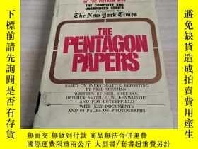 二手書博民逛書店The罕見Pentagon Papers: The Secret History of the Vietnam W