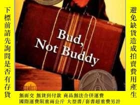 二手書博民逛書店紐伯瑞獎英語有聲罕見Bud, Not Buddy 6張聽的+電腦