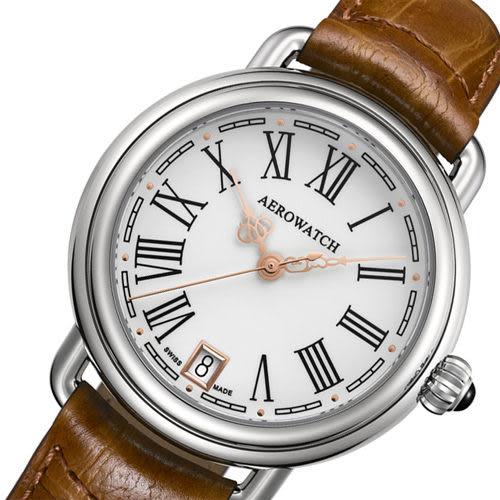 AEROWATCH 羅馬時尚簡約腕錶 A42960AA03