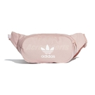 adidas 腰包 Essential Crossbody Bag 粉紅 白 男女款 側背包 三葉草 【ACS】 ED9377