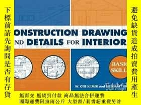 二手書博民逛書店Construction罕見Drawings and Detai