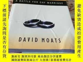 二手書博民逛書店Civil罕見Wars a battle for gay marriageY64762 David Moats
