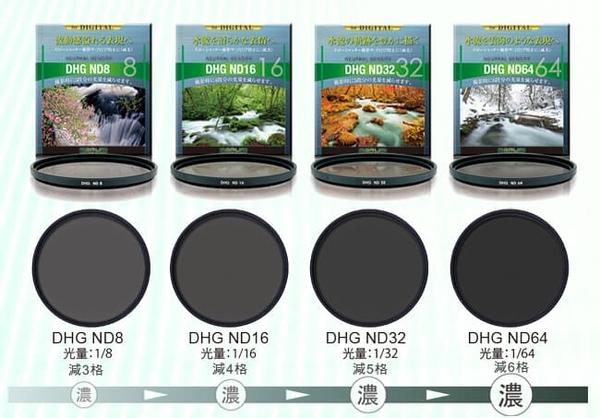 日本製 MARUMI DHG ND32 55mm 數位多層鍍膜減光鏡 減五格 廣角 超薄框 無暗角 彩宣公司貨