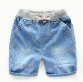 【618好康鉅惠】618好康鉅惠男童牛仔褲短褲子夏裝童裝寶寶兒童褲子女童