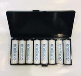 【不含電池】Panasonic eneloop 3號 AA 8入裝電池盒 電池收納盒 儲存盒 (不含電池)