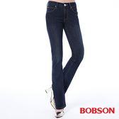 BOBSON 女款保暖膠原蛋白美肌小喇叭褲(8100-52)