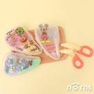 日貨Skater BFC1迪士尼副食品剪刀- Norns 嬰兒離乳食食物剪刀 攜帶式附收納盒 小熊維尼 米奇