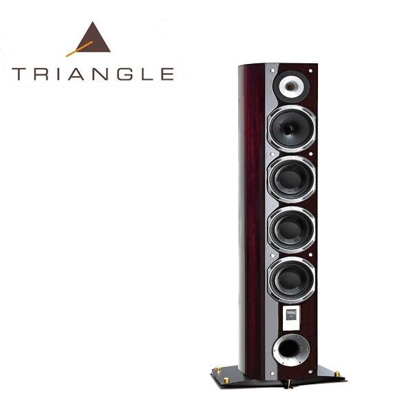 【勝豐群竹北音響】Triangle Magellan Quatuor  麥哲倫四重奏 落地型喇叭非洲紅色 (Alpha/Comete/Gamma)