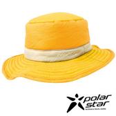 PolarStar 防潑水圓盤帽 『土黃』P15601 遮陽帽 保暖帽 柔軟 舒適 可壓縮 戶外 休閒 旅遊