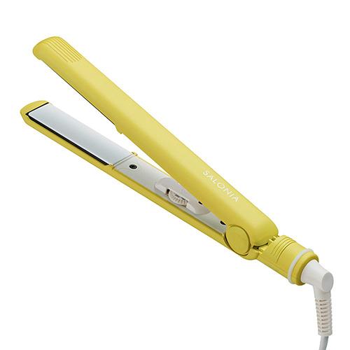 【日本代購】雙離子直髮器230°C海外應用-黃色