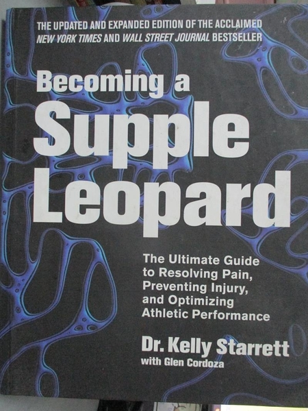 【書寶二手書T1/餐飲_QIP】Becoming a Supple Leopard-The Ultimate Guide..._Starrett