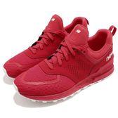 New Balance 慢跑鞋 574 NB 紅 白 經典元素 全新面貌 運動鞋 襪套式 男鞋【PUMP306】 MS574PCRD