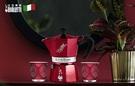 【Bialetti經典】摩卡壺3杯份-復刻紅(贈Bialetti專用罐裝粉)