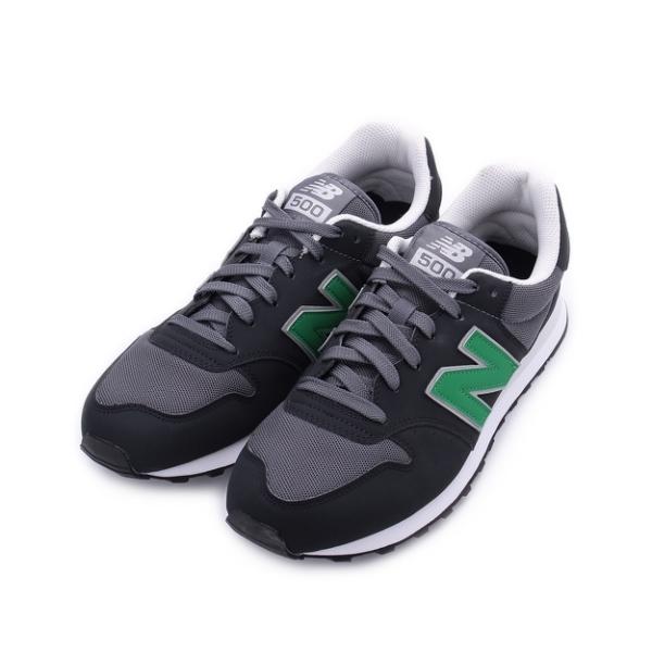 NEW BALANCE 500 復古休閒鞋 黑灰綠 GM500VA1 男鞋