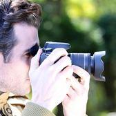 佳能700D/200D/750D/800D 18-55 STM鏡頭EW-63C遮光罩白色58mm