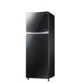 東元220公升雙門變頻冰箱耀石黑R2307XGBL
