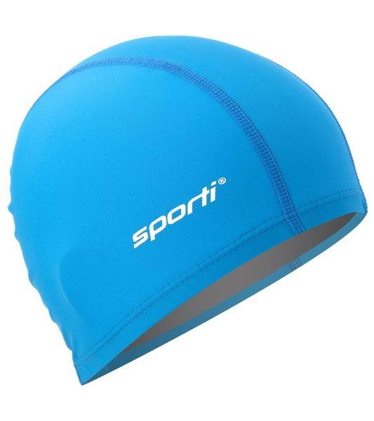 布面萊卡泳帽  美國原裝Sporti  2種顏色 (紅/藍) 可選 Nylon Spandex
