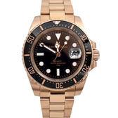 Valentino coupeau黑玫金不鏽鋼錶NEV85