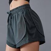 瑜伽跑步褲夏季運動短褲女速幹透氣三分性感健身褲大碼寬鬆健身房 【端午節特惠】