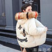 新款棉衣女短款韓版寬鬆bf面包服加厚羽絨棉服女冬裝學生棉襖外套  潮流衣舍