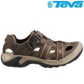 TEVA 護趾水陸多功能運動涼鞋Omnium - 咖啡