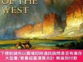 二手書博民逛書店Lure罕見of the West: Treasures from the Smithsonian America