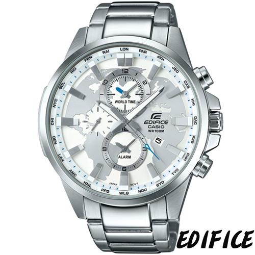 卡西歐 CASIO EDFICE 簡約三眼腕錶 EFR-303D-7A
