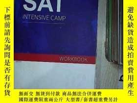 二手書博民逛書店SAT罕見INTENSIVE CAMP 02 SAT強化訓練營02Y261116