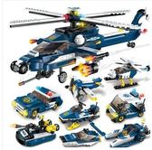 積木城市男孩子6拼裝玩具7益智智力航母小學生8-10歲兒童 igo 夏洛特居家