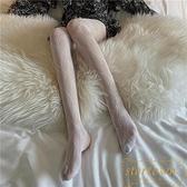 薄款網格褲襪性感絲襪蕾絲連腳褲美腿襪打底褲襪子【繁星小鎮】