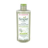 英國進口 Simple 臉部清潔 溫和保濕卸妝水 200ml (Micellar Cleansing Water)