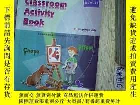 二手書博民逛書店CLASSROOM罕見ACTIVITY BOOK 4 2 課堂活