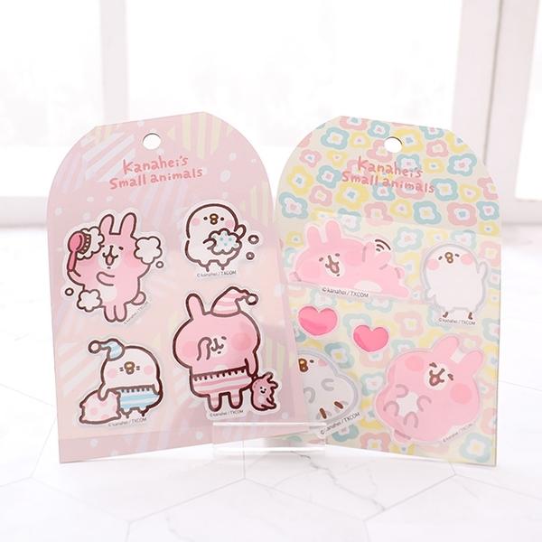 【Kanahei水晶浮雕貼紙】Norns 卡娜赫拉 正版授權 P助兔兔 防水貼紙 行李箱 安全帽貼紙