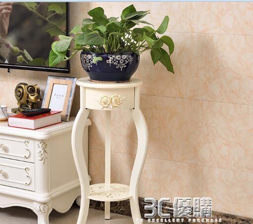 歐式綠蘿花架子花盆架客廳室內特價陽臺花架置物架落地式簡約多層 3C優購