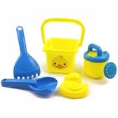 沙灘玩具-兒童夏天沙灘玩具桶套裝小黃鴨寶沙玩雪小熊沙漏洗澡-奇幻樂園