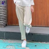 【春夏新品】American Bluedeer - 抓褶休閒長褲(特價) 二色