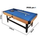特價大號1.7撞球桌1.3兒童撞球桌標準美式家用成人桌球台不可折疊 【快速】
