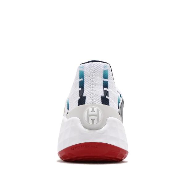 adidas 籃球鞋 Harden Vol.4 GCA Rockets 白 藍 男鞋 火箭隊 運動鞋 【ACS】 FY0842