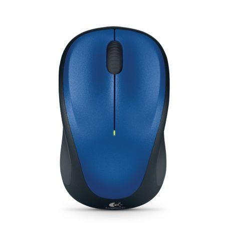 羅技無線滑鼠 M235-藍 (微型接收器)