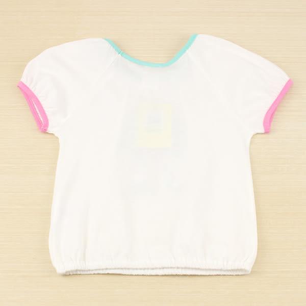 【愛的世界】純棉圓領水果百匯彩邊短袖上衣/2~4歲-台灣製- ★春夏上著