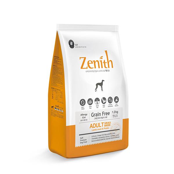 寵物家族-Zenith先利時-無穀全齡犬軟飼料1.2kg(原低敏小型犬軟飼料(BB-0002) )