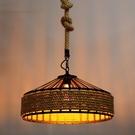 吊燈 新款工業風復古麻繩吊燈鐵藝loft酒店餐廳展廳燈飾工程照明燈具(定金鏈接,下標前洽談)