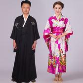 古裝日本和服女正裝傳統改良名族男士和服舞台cos動漫花魁演出服 生活樂事館