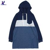 【秋冬新品】American Bluedeer - 拼接長上衣 秋冬新款
