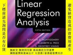 全新書博民逛書店IntroductionTo ar Regression Analysis-線性回歸分析概論Y436638 D